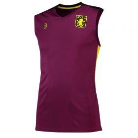 Aston Villa Training Top - Sleeveless - Purple