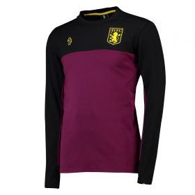 Aston Villa Crew Neck Drill Top - Purple