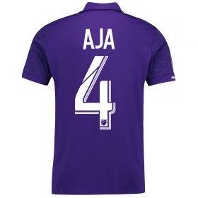 Orlando City SC Home Shirt 2017-18 with Aja 4 printing