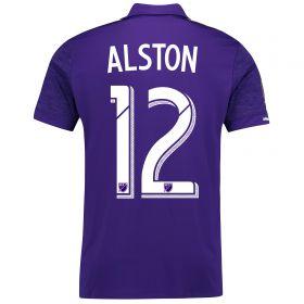 Orlando City SC Home Shirt 2017-18 with Alston 12 printing