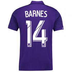 Orlando City SC Home Shirt 2017-18 with Barnes 14 printing