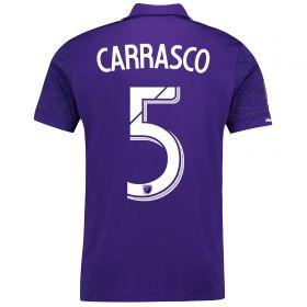 Orlando City SC Home Shirt 2017-18 with Carrasco 5 printing