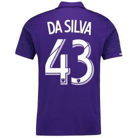 Orlando City SC Home Shirt 2017-18 with Da Silva 43 printing
