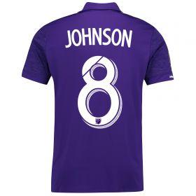 Orlando City SC Home Shirt 2017-18 with Johnson 8 printing