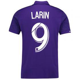 Orlando City SC Home Shirt 2017-18 with Larin 9 printing
