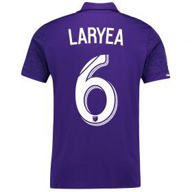 Orlando City SC Home Shirt 2017-18 with Laryea 6 printing