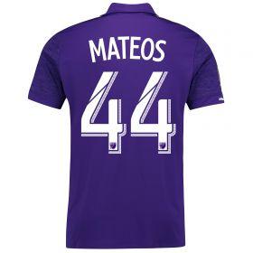 Orlando City SC Home Shirt 2017-18 with Mateos 44 printing
