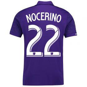 Orlando City SC Home Shirt 2017-18 with Nocerino 22 printing