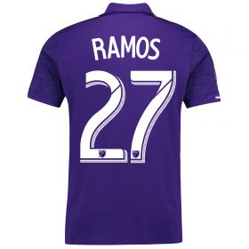 Orlando City SC Home Shirt 2017-18 with Ramos 27 printing