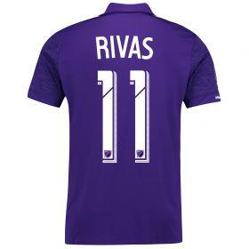 Orlando City SC Home Shirt 2017-18 with Rivas 11 printing