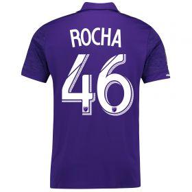 Orlando City SC Home Shirt 2017-18 with Rocha 46 printing