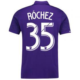 Orlando City SC Home Shirt 2017-18 with Róchez 35 printing