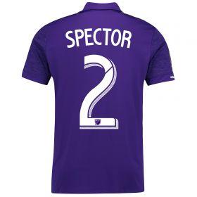 Orlando City SC Home Shirt 2017-18 with Spector 2 printing