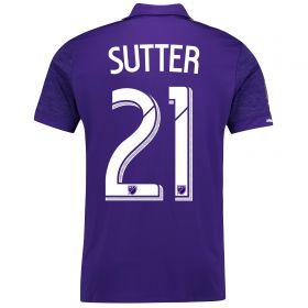 Orlando City SC Home Shirt 2017-18 with Sutter 21 printing