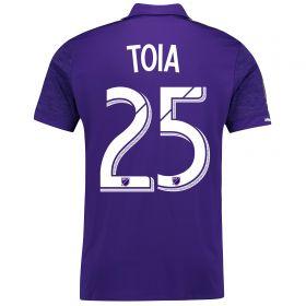 Orlando City SC Home Shirt 2017-18 with Toia 25 printing