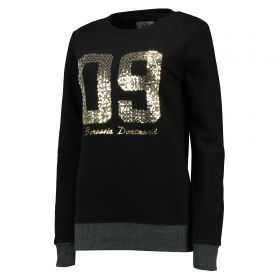 BVB 09 Sequin Crew Neck Sweater - Black - Womens