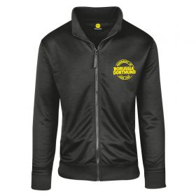 BVB Full Zip Printed Sweat Jacket - Black - Mens