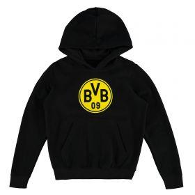 BVB Large Crest Hoodie - Black - Kids