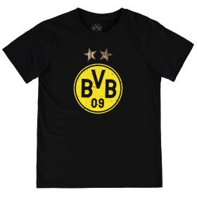 BVB Large Crest T-Shirt - Black - Kids