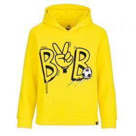 BVB Peace Sign Hoodie- Yellow - Junior