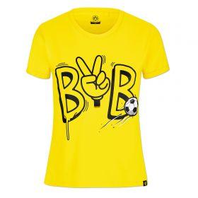 BVB Peace Sign T-Shirt - Yellow - Junior