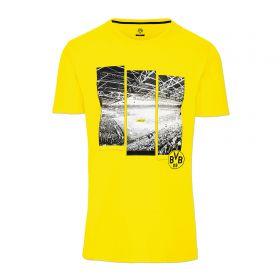 BVB Photo Print T-Shirt - Yellow - Mens