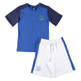 Everton Kit PJ - Royal/White (2-13yrs)