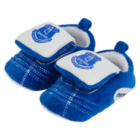 Everton Velcro Boot Slipper - Baby