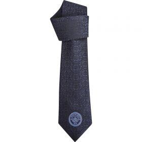 Manchester City Polyester Skinny Tie - Navy