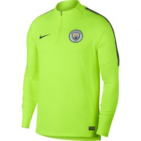 Manchester City Squad Drill Top - Yellow