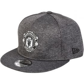 Manchester United New Era 9FIFTY Shadow Tech Snapback Cap - Grey - Adult