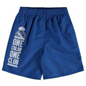 Real Madrid Swim Shorts - Blue - Junior