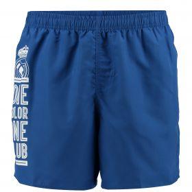 Real Madrid Swim Shorts - Blue - Mens