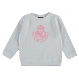 Real Madrid Tonal Crest Sweater - White - Infants