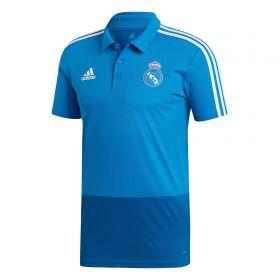 Real Madrid Training Polo - Blue