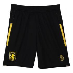 Aston Villa Training Shorts - Black - Kids