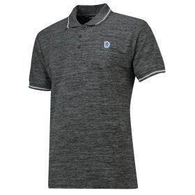 Chelsea Contrast Tipped Edge Polo Shirt - Space Grey - Mens