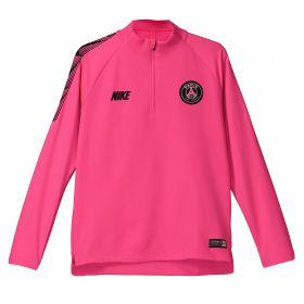 Paris Saint-Germain Squad Drill Top - Pink - Kids