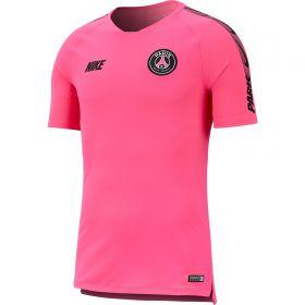 Paris Saint-Germain Squad Training Top - Pink