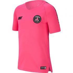 Paris Saint-Germain Squad Training Top - Pink - Kids