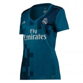 Real Madrid Third Shirt 2017-18 - Womens with Zidane 5 printing