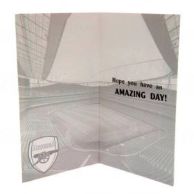 Картичка ARSENAL Birthday Card