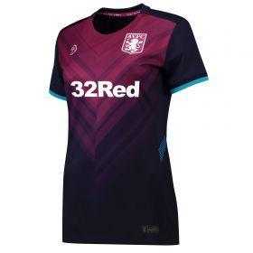 Aston Villa Third Shirt 2018-19 - Womens with Abraham 18 printing