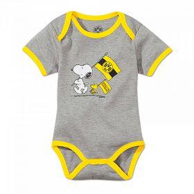 BVB & Snoopy Bodysuit - Grey/Yellow - Baby