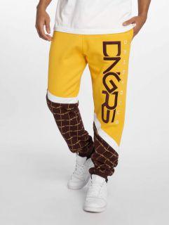 Dangerous DNGRS / Sweat Pant Woody in yellow