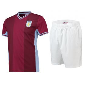 Aston Villa Kit PJ - Claret/ Sky - Mens