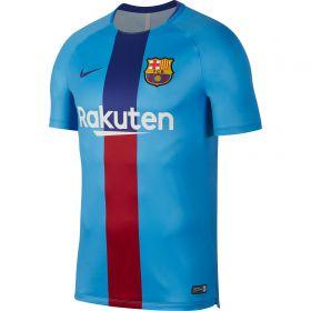 Barcelona Pre-Match Top - Blue