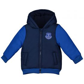 Everton Infant Varsity Jacket - Navy - Unisex