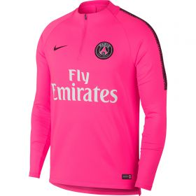 Paris Saint-Germain Squad Drill Top - Pink