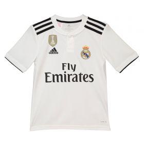 Real Madrid Home Shirt 2018-19 - Kids with Brahim 21 printing